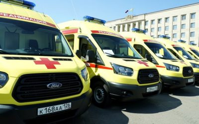 Медицинские организации Ставрополья получили новые реанимобили