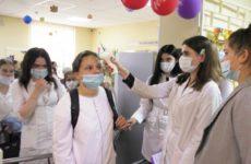 Первокурсников Нижегородского медицинского колледжа торжественно посвятили в студенты-медики
