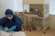 Ставропольские специалисты одной из лабораторий проводят более 200 исследований на COVID-19 в сутки