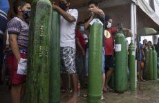 Жертвам коронавируса в Бразилии не хватает кислорода