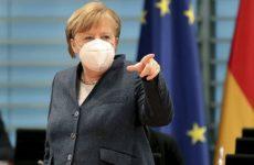 Меркель объявила о затухании второй волны коронавируса