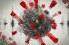 Ультразвук может уничтожать коронавирусы